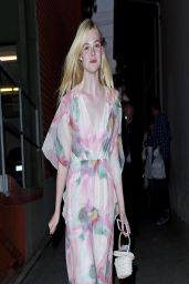Elle Fanning Night Out Style - Beverly Hills, April 2014