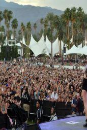 Ellie Goulding Performing at Coachella 2014
