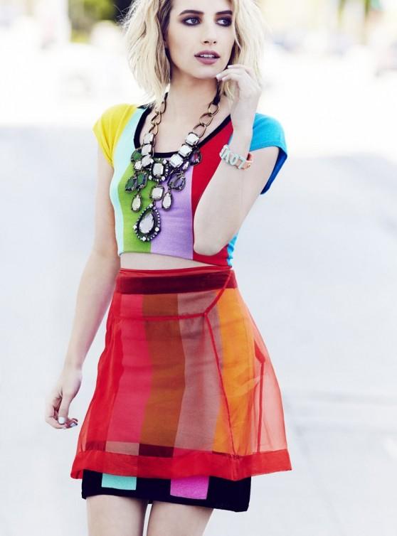 Emma Roberts - Elle Canada, 2014