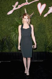 Emma Roberts – Lanvin and Living Beauty Host An Evening of Fashion – April 2014