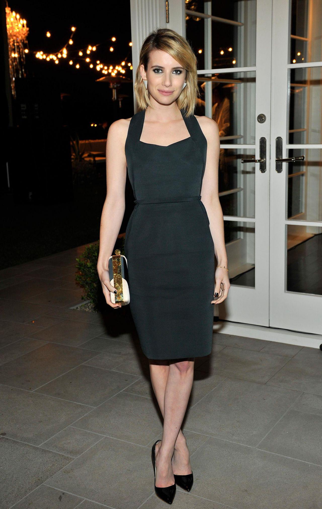 Emma Roberts Lanvin And Living Beauty Host An Evening Of