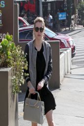 Emma Roberts – Out in Los Angeles - April 2014