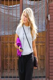Emma Slater - DWTS Rehearsal in Los Angeles - April 2014
