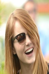 Emma Stone at 2014 Be Amazing Miami at Hialeah Gardens Elementary