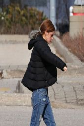 Emma Watson in Jeans - Out in Toronto - April 2014