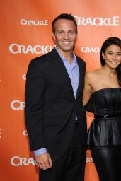 Emmanuelle Chriqui - Crackle NewFronts in New York City