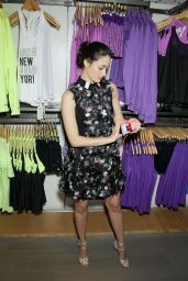 Emmy Rossum at Under Armour