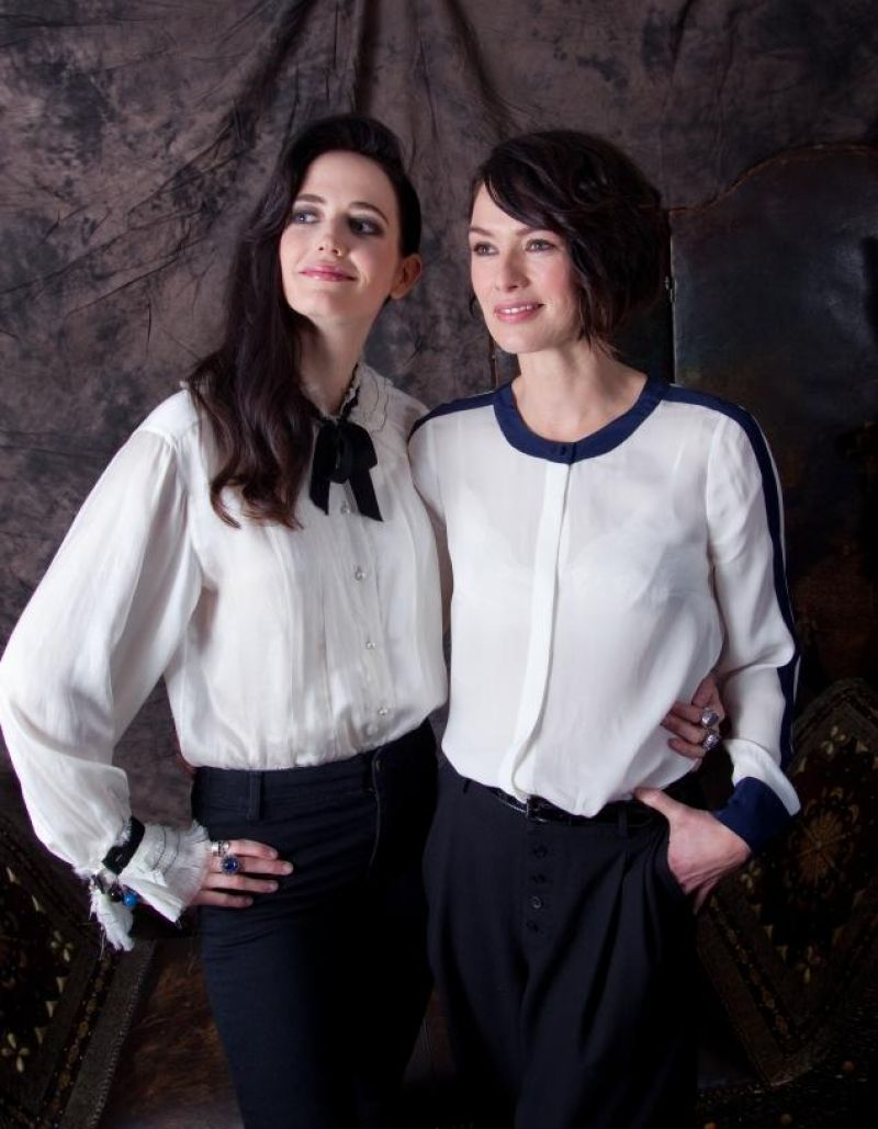 Eva Green and Lena Headey - New York Daily News Photoshoot (2014)