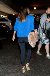 Eva Longoria at LAX Airport in Los Angeles - April 2014