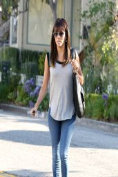 Eva Longoria in Jeans While Out in Los Angeles - April 2014
