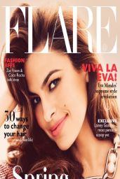 Eva Mendes - Flare Magazine May 2014 Cover