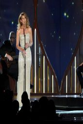 Faith Hill in  Saint Laurent Gown - 2014 Academy Of Country Music Awards in Las Vegas