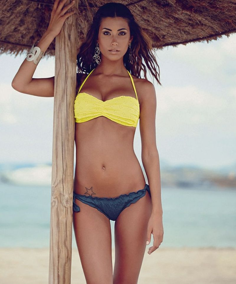 Federica Nargi in a Bikini - Goldenpoint Beachwear 2014 (Preview)