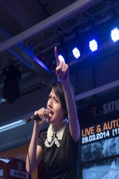 Gabriella Cilmi Performs During Her Autograph Session in Hamburg, Germany - March 2014