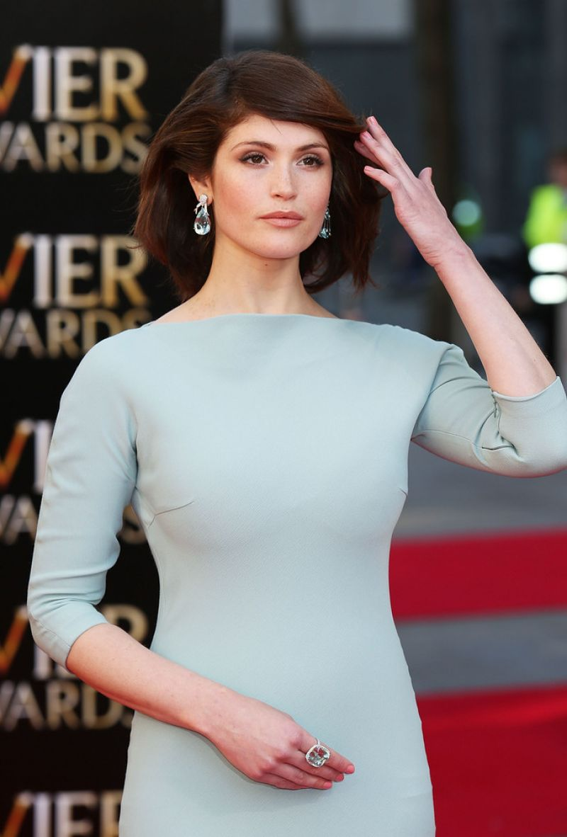 Gemma Arterton - 2014 Laurence Olivier Awards in London