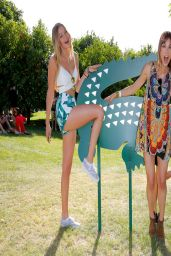 Gigi Hadid - LACOSTE Beautiful Desert Pool Party – April 2014