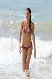 Gisele Bundchen Bikini Candids - Beach in Brazil - April 2014