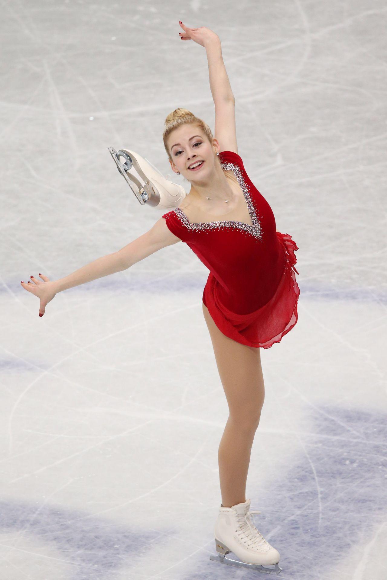 Gracie Gold - ISU World Figure Skating Championships - March 2014