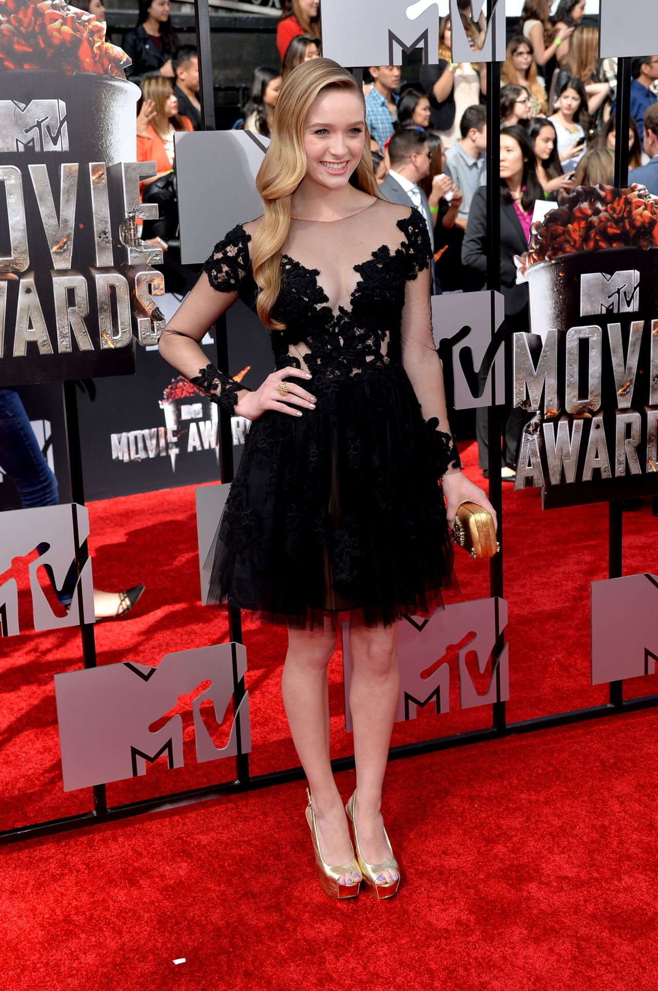 Greer Grammer - 2014 MTV Movie Awards