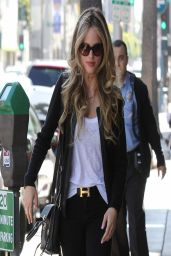 Halston Sage Casual Style - Out in Los Angeles - April 2014