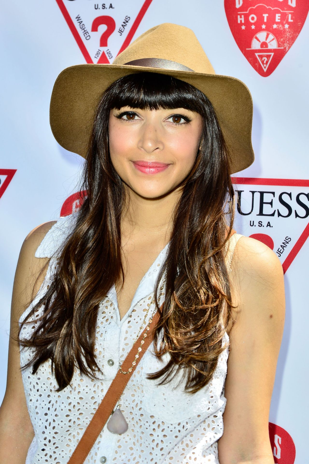 Hannah Simone - GUESS Hotel in Palm Springs - April 2014