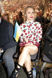 Hayden Panettiere at a Boxing Match in Oberhausen - April 2014
