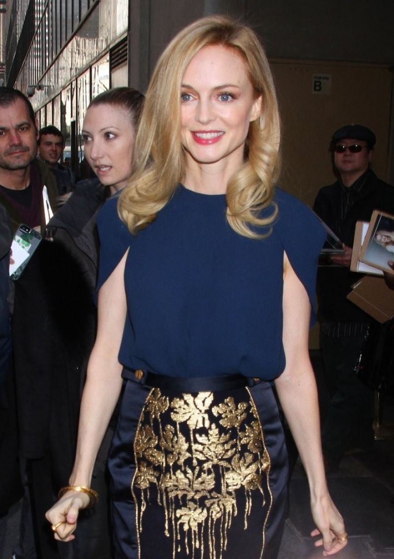 Heather Graham - Visits