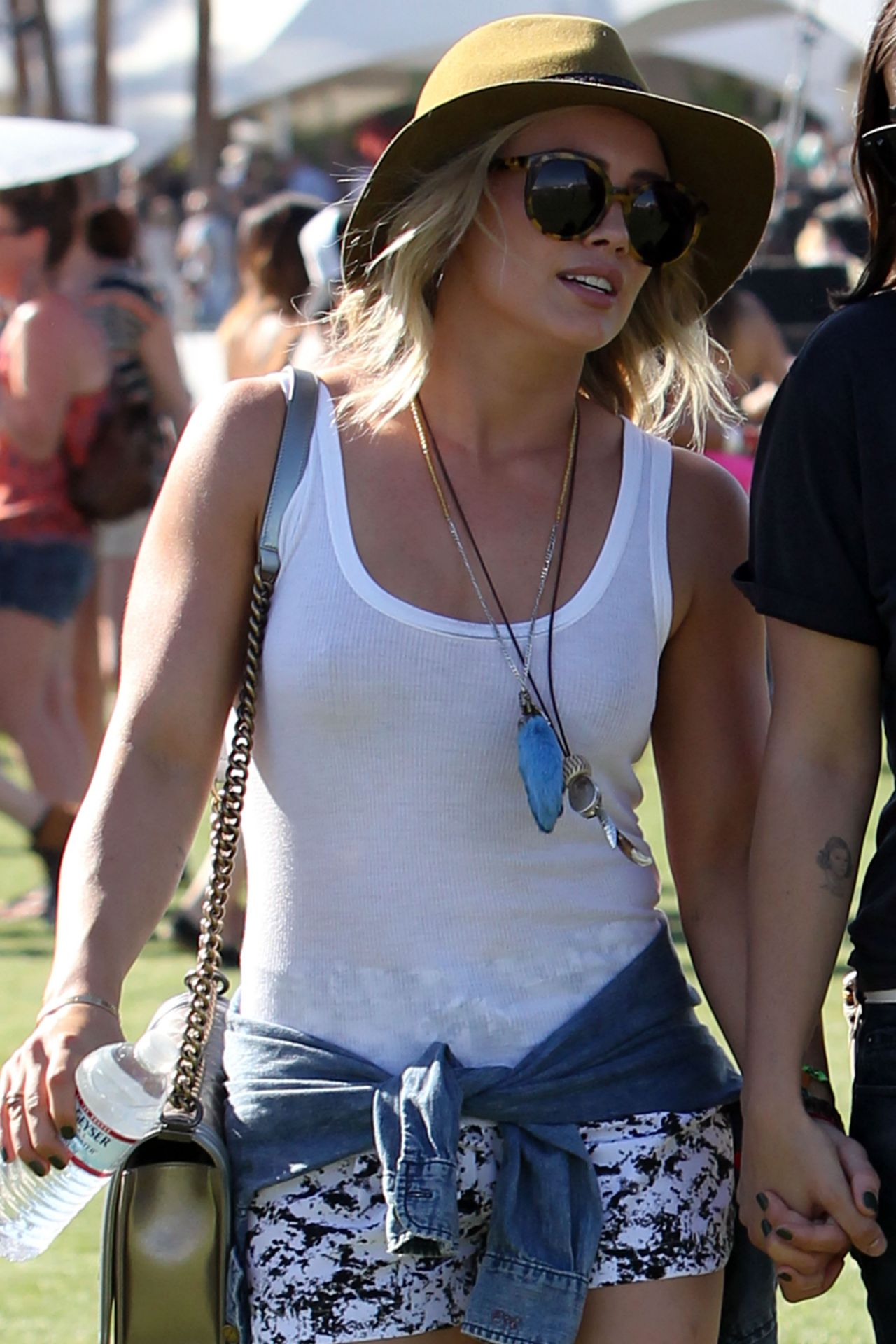 Hilary Duff at Coachella - April 2014