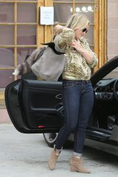 Hilary Duff – Out in Beverly Hills - April 2014