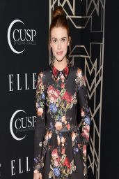 Holland Roden in Erin by Erin Fetherston Dress – 2014 ELLE Women In Music Celebration in Hollywood
