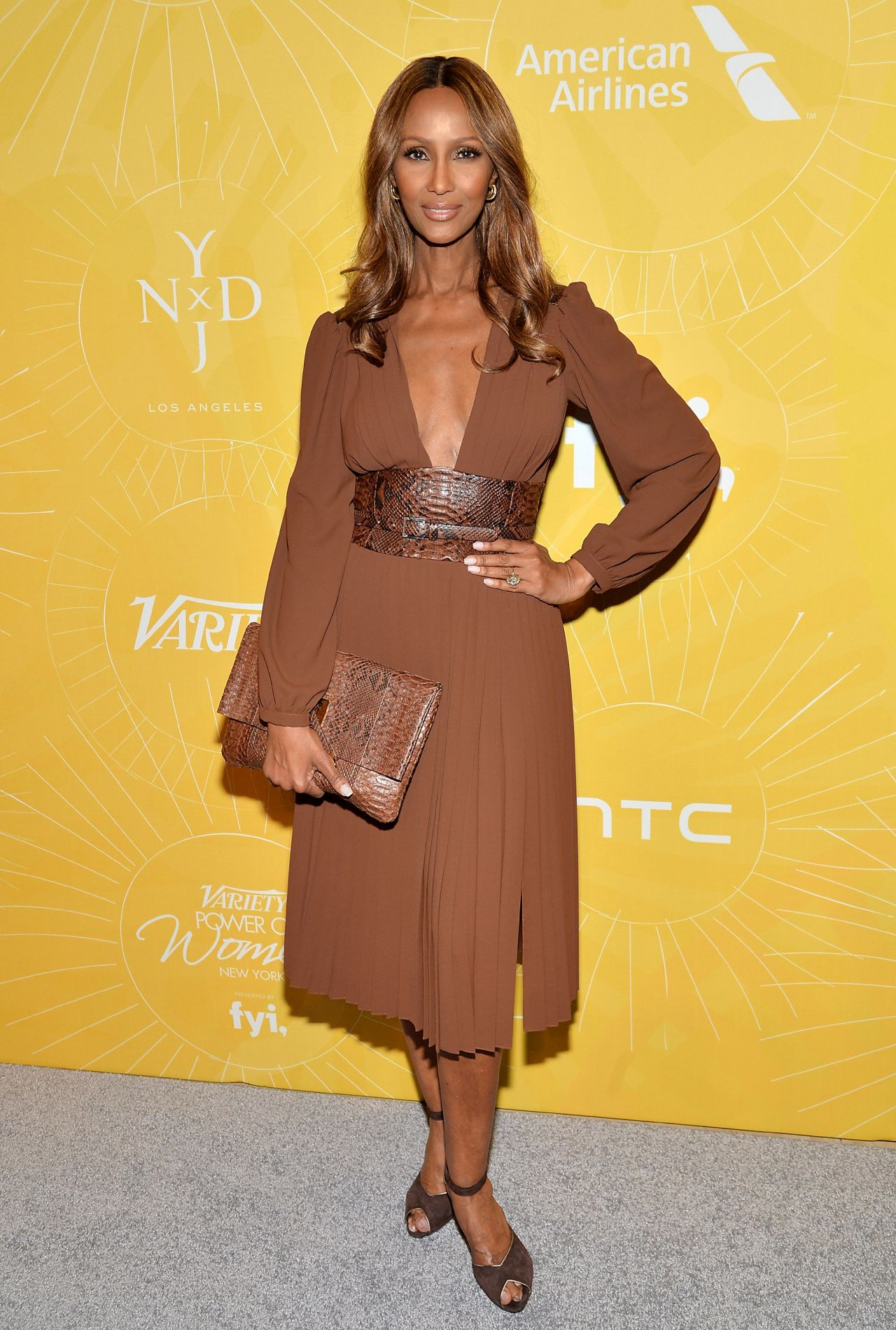 iman varietys power of women new york luncheon