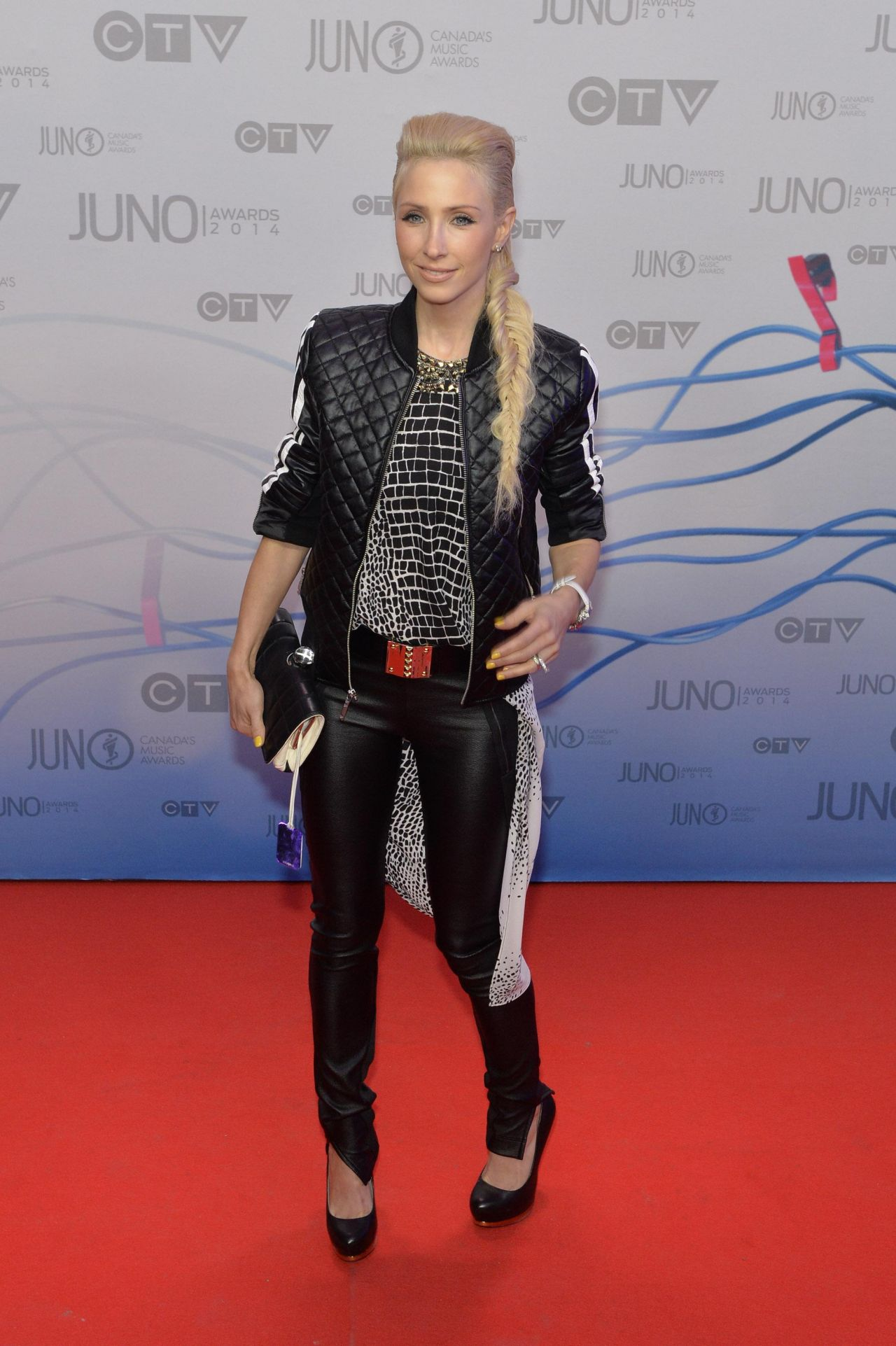 Jacynthe - 2014 Juno Awards in Winnipeg