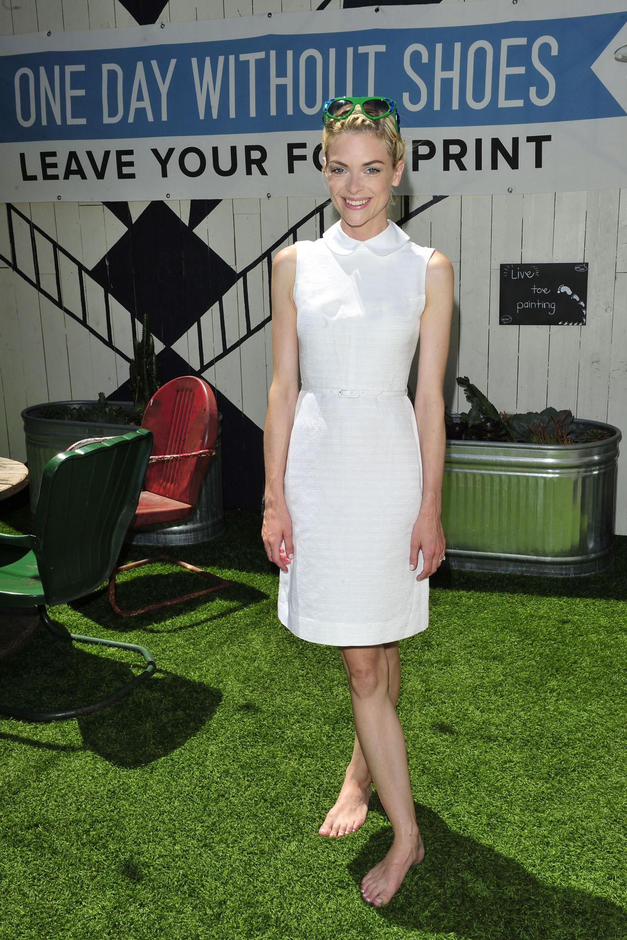 Jaime King Go Without Shoes for Toms (2014)