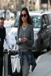 Jamie Chung Casual Style - Out in New York City - April 2014