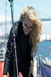Jamie Lynn Spears - Concert on the Battleship Iowa in San Pedro - April 2014
