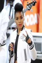 Janelle Monae Performs On NBC
