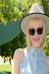 Jena Malone - LACOSTE Beautiful Desert Pool Party at Coachella - April 2014