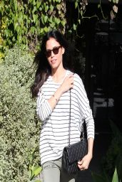 Jenna Dewan - Leaving the Andy LeCompte Salon in West Hollywood - April 2014