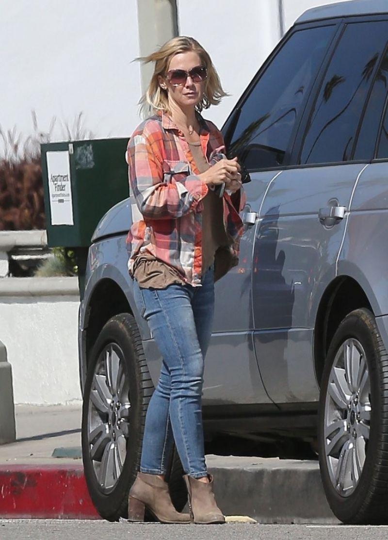 Jennie Garth - Booty in Jeans - Studio City - March 2014