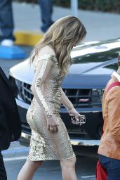 Jennifer Lopez In Georges Chakra Dress -