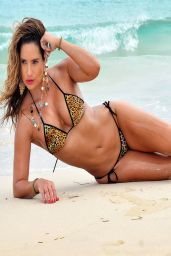 Jennifer Nicole Lee - Bikini Photoshoot in Miami Beach - April 2014
