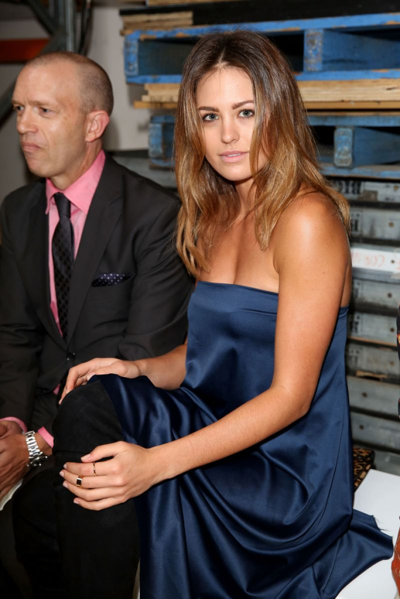 Jesinta Campbell in Sydney - Alex Perry Fashion Show