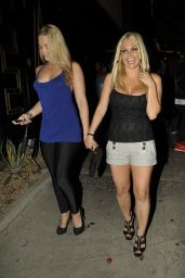 Jesse Jane Night Out Style - West Hollywood - April 2014