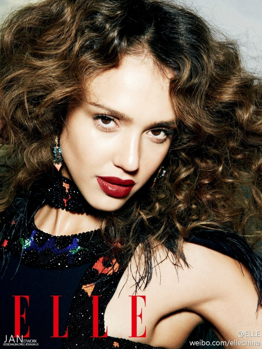 Jessica Alba - Elle Magazine (China) May 2014 Issue