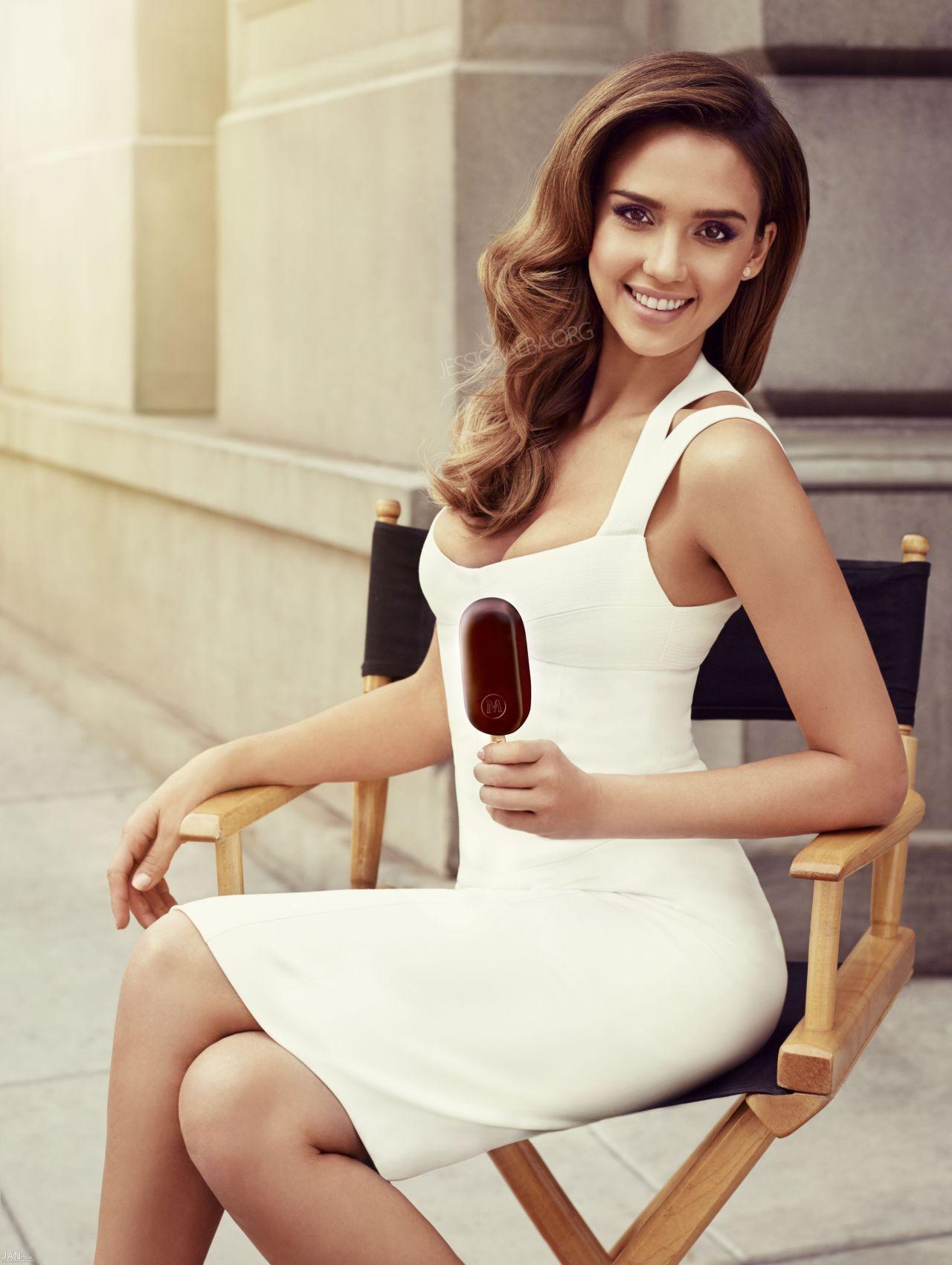 Jessica Alba - Magnum Ice Cream Campaign