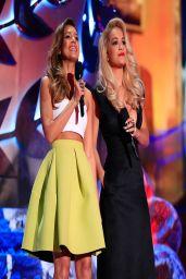 Jessica Alba Wearing Piece d'Anarchive & Kenzo - 2014 MTV Movie Awards