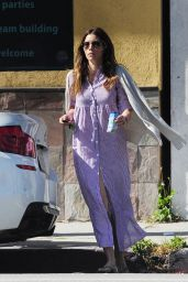 Jessica Biel - Out in Studio City - April 2014