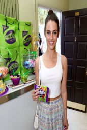 Jessica Lowndes - The Music Lounge at Coachella 2014