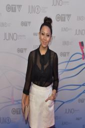 Joanna Borromeo - 2014 Juno Awards in Winnipeg