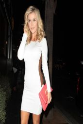 Joanna Krupa Night Out Style - RivaBella Restaurant in Los Angeles - April 2014